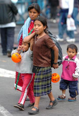 图文 墨西哥庆祝传统亡灵节 3