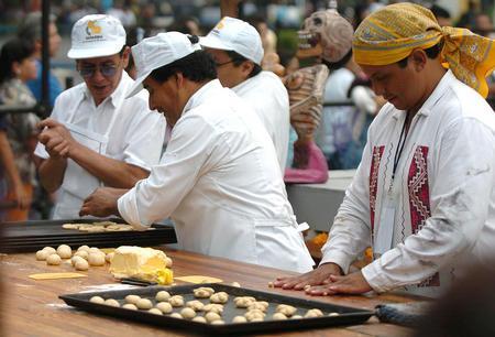图文 墨西哥庆祝传统亡灵节 4