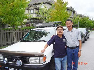李峰单人单车环球旅行--加拿大之旅(四)