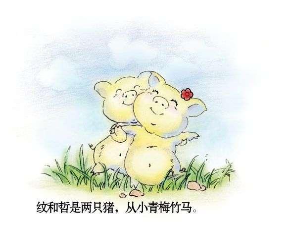 [漫话情感]两只猪猪的刻骨爱情