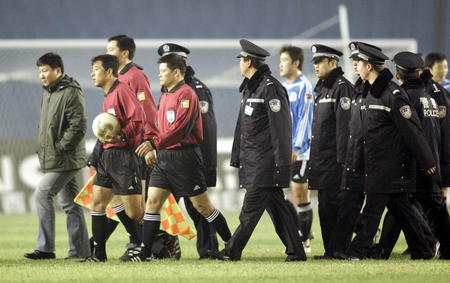 图文:北京现代1-0大连实德