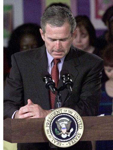 组图:布什连任美国总统