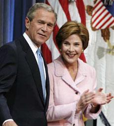 布什连任美国总统