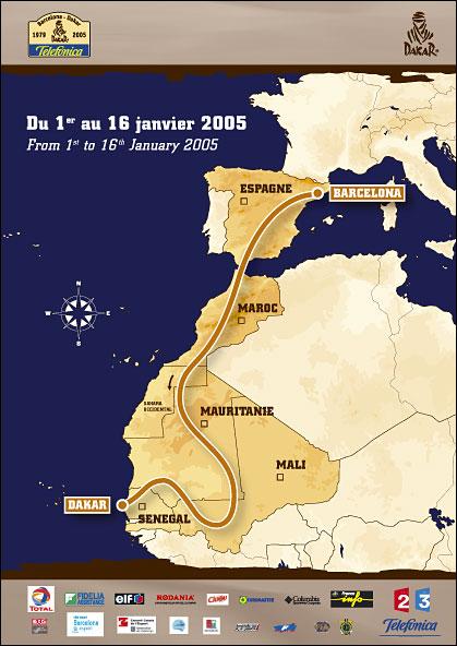巴黎—达喀尔拉力赛简介 附2005年地图-搜狐汽车