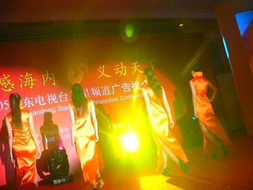 图文:山东卫视举办2005年广告经营推介会-14