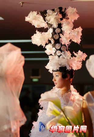 组图:第六届江苏美容美发美甲大赛在南京举行图片