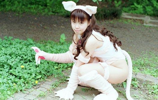 [Cosplay]极品野猫小性感图片欣赏裸全少妇粉色性感图片
