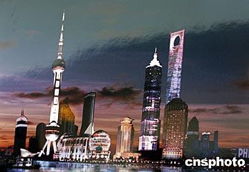 上海世界第一高楼似日本军刀