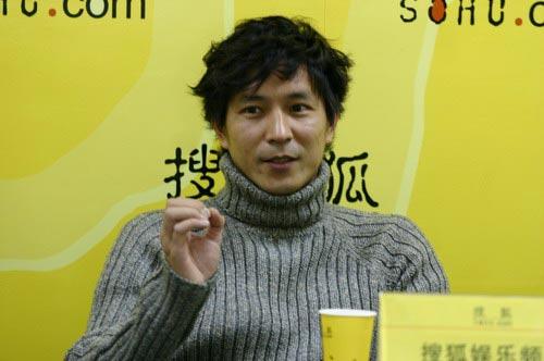 组图:演员刘恒宇做客搜狐聊天实录