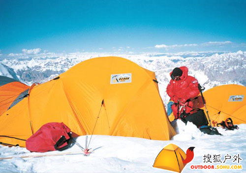 西藏登山队攀登K2