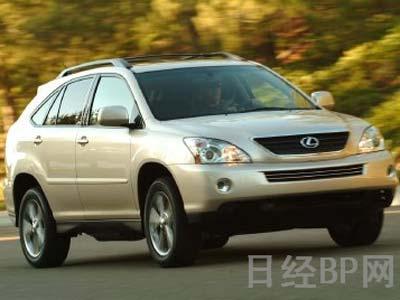 """丰田明年北美上市混合动力SUV""""RX 400h"""""""
