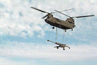 """美军对""""神剑""""榴弹炮弹gps制导测试成功(组图)"""