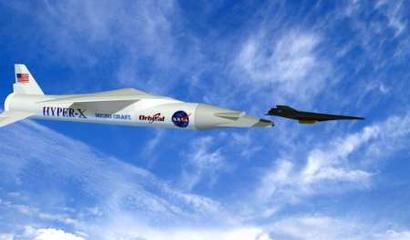 美超音速飞机时速超万公里 创下新世界纪录(图)