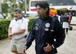 图文:巴拉圭队备战世界杯 球员抵达训练场