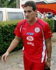 图文:巴拉圭队备战世界杯 队长踌躇满志