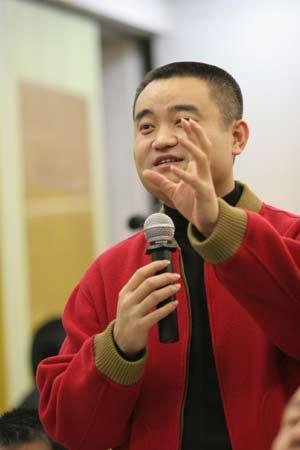 图文:中国足球体制改革理论研讨会-慷慨激昂