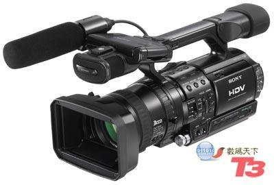 索尼hdr-fx1e数码摄像机