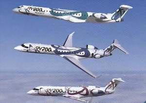 背景资料:Canada Regional Jet加拿大地区喷气