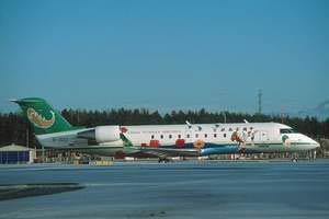 背景资料:CRJ系列飞机简介