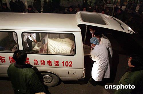 组图:河北邢台沙河矿难死亡人数增加
