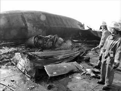 起飞60秒爆炸 内蒙古45年安全纪录破灭(组图)
