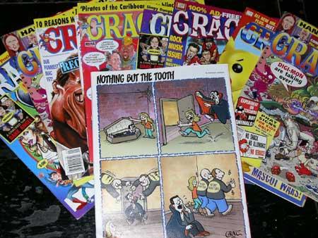 美国最畅销的杂志漫画Cracked日本漫画乳贫图片