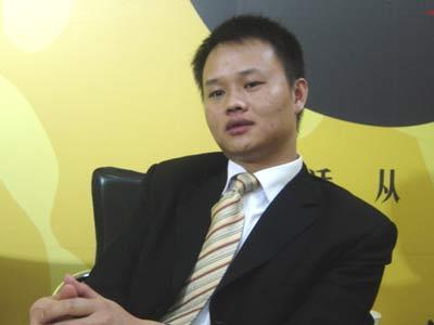 搜狐专访江南汽车销售有限公司总经理牟文胜高清图片