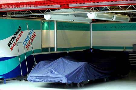 图文:F1巴西站后首次测试-若隐若现