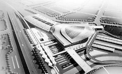 图为入围的布吉火车站改造效果图之一