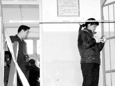 河南发生校园凶杀案八男生睡梦中被砍死(组图)