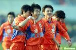 图文:山东5-2大胜北京 鲁能泰山锁定中超亚军