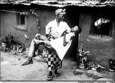 真实镜头:震撼心灵的非洲艾滋病人(组图)