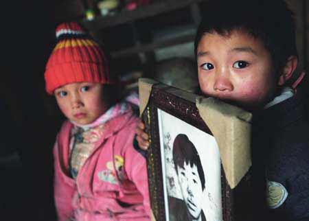 毒魔下的黯淡童年:艾滋病孤儿黑色日记(附图)