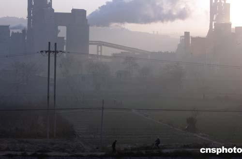 区水泥厂污染严重