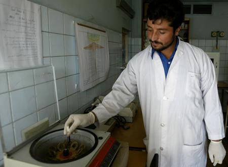 图文:阿富汗的艾滋病防治机构(3)