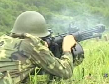 中国数字化单兵装备亮相天津 引起观众注目