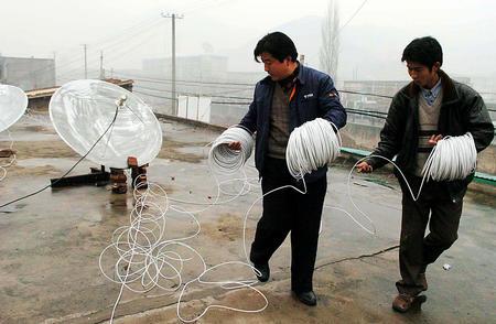 图文:电信部门为矿难救灾工作提供服务