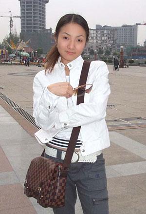 武汉街头美女