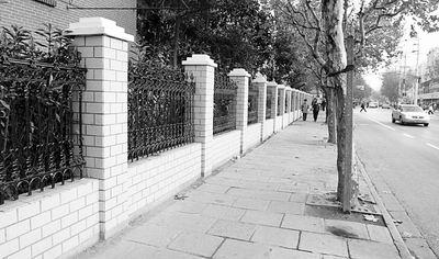 砖砌围墙  欧式