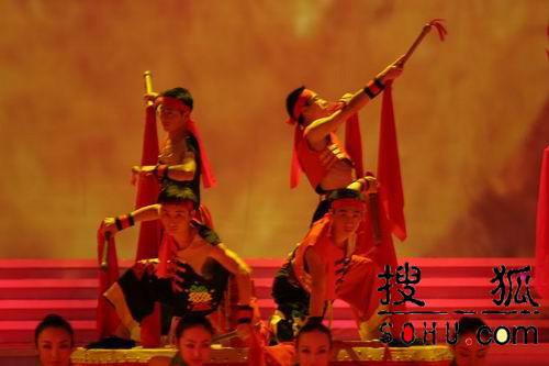 图文:第54届世界小姐选举总决赛-现场歌舞1