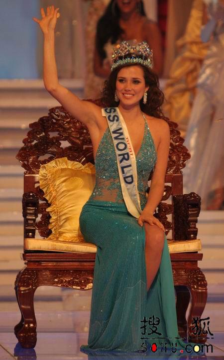 图文:第54届世界小姐选美总决赛-秘鲁小姐3