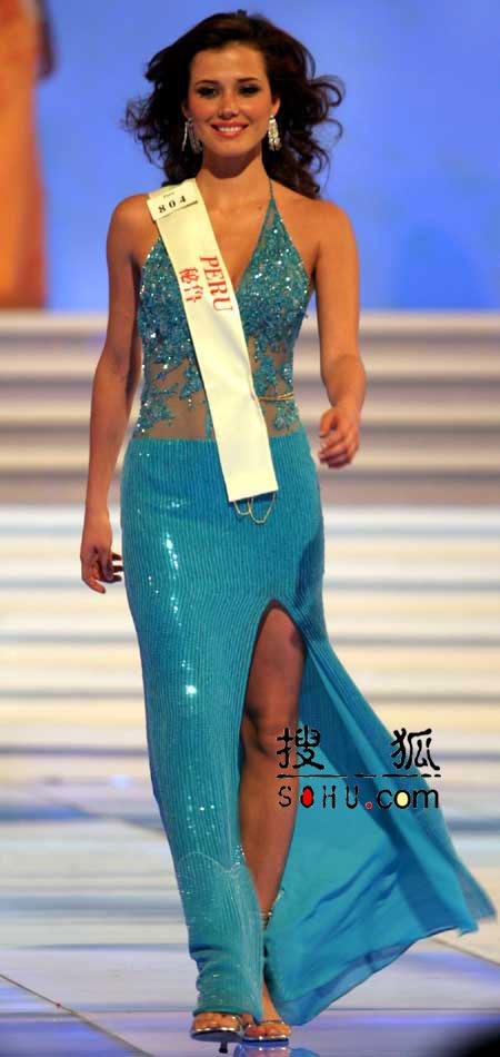 图文:2004世界小姐选美总决赛-传统服饰9