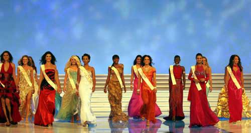 图文:2004世界小姐选美总决赛-传统服饰7