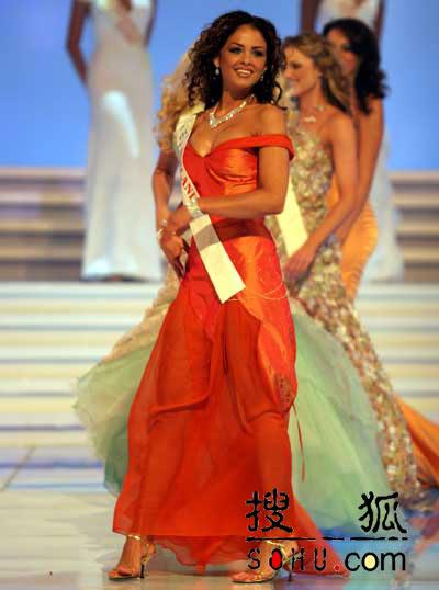 图文:2004世界小姐选美总决赛-传统服饰3