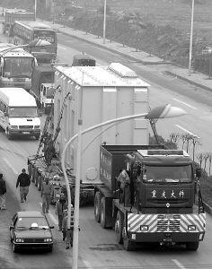 世界上最大的拖挂车_世界上最大的拖挂车高清图片