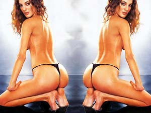 国际美女完美胸臀标准图