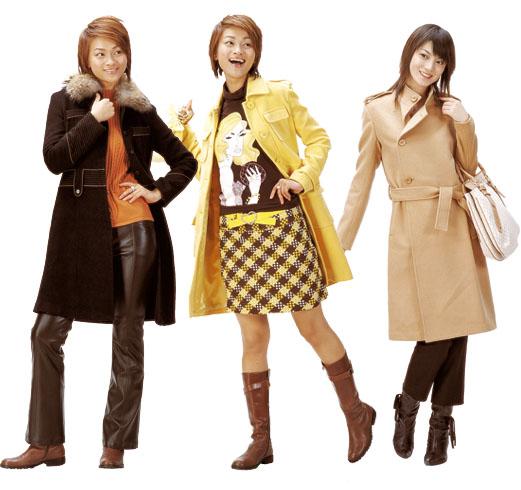 冬季帽子大衣的时尚搭配(图)