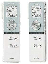 录音笔也要学iPod 夏普瘦王子PA-VR10