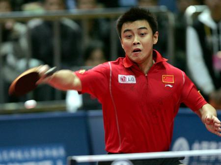 图文:乒联总决赛拉开战幕