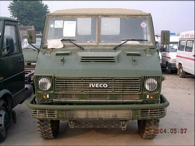 零距离接触依维柯军用越野车的图文汇报